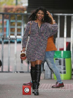 Sinitta - Sinitta outside ITV Studios - London, United Kingdom - Wednesday 11th November 2015
