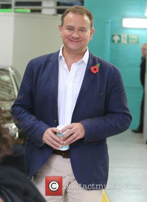 Hugh Bonneville - Hugh Bonneville outside ITV Studios - London, United Kingdom - Wednesday 11th November 2015