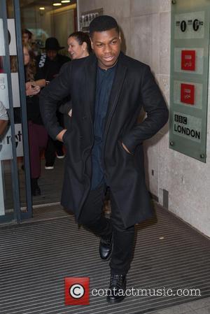 John Boyega - John Boyega pictured arriving at the Radio 1 studios at BBC Portland Place - London, United Kingdom...