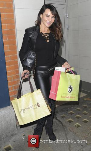 lizzie cundy - FVP Christmas Gifting Suite - Arrivals - London, United Kingdom - Thursday 12th November 2015