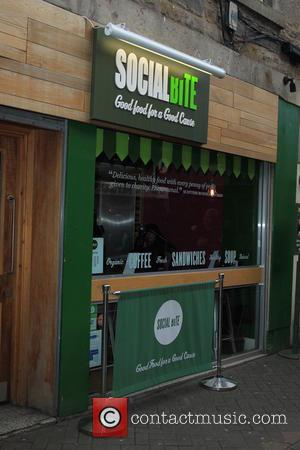 Social Bite Cafe - George Clooney visits Social Bite a charitable organisation to help the homeless. This is George's first...