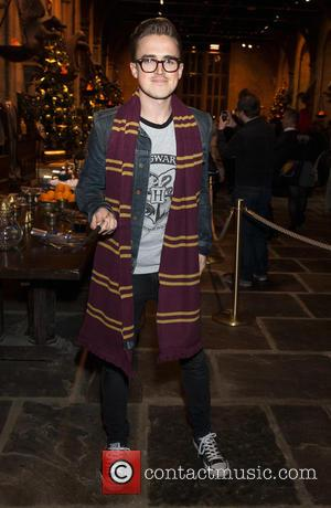 Tom Fletcher - Hogwarts in the Snow launch at Warner Bros. Studio Tour - Arrivals at Warner Bros. Studio, Watford....