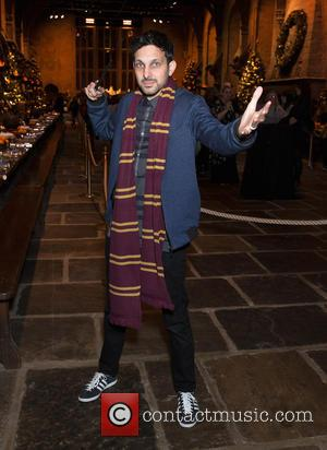 Dynamo - Hogwarts in the Snow launch at Warner Bros. Studio Tour - Arrivals at Warner Bros. Studio, Watford. -...