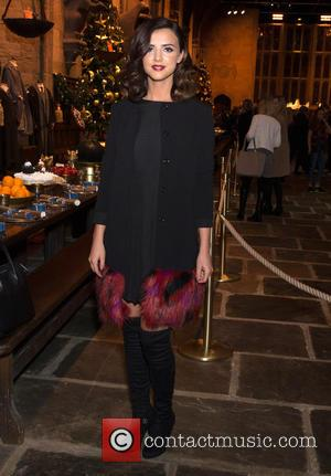 Lucy Mecklenburgh - Hogwarts in the Snow launch at Warner Bros. Studio Tour - Arrivals at Warner Bros. Studio, Watford....