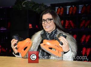 Kym Marsh - Kym Marsh launches New Bailey's Manchester Ice Rink - Manchester, United Kingdom - Thursday 12th November 2015