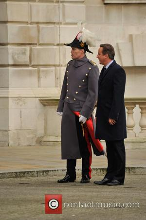 David Cameron - Indian Prime Minister Modi visits the U.K. and is greeted by David Cameron with a guard of...