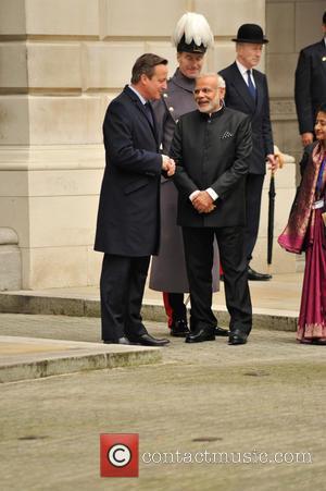Prime Minister Modi and David Cameron