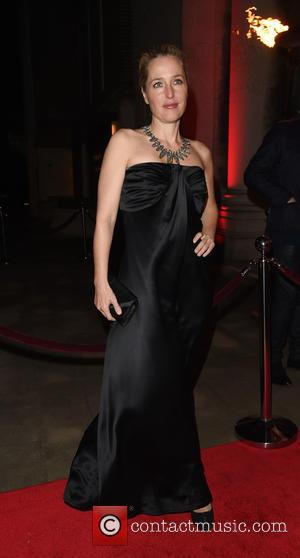 Gillian Anderson - Park Theatre Annual Gala Dinner at Stoke Newington Town Hall - Arrivals - London, United Kingdom -...