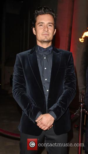 Orlando Bloom - Park Theatre Annual Gala Dinner at Stoke Newington Town Hall - Arrivals - London, United Kingdom -...