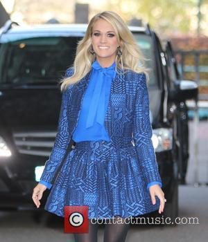 Carrie Underwood - Carrie Underwood outside ITV Studios - London, United Kingdom - Thursday 12th November 2015