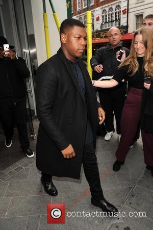 John Boyega - John Boyega arrives at the BBC Radio 1 studios - London, United Kingdom - Thursday 12th November...