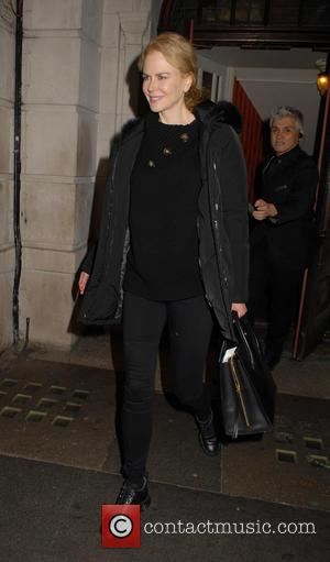 Nicole Kidman - Nicole Kidman leaves the Noël Coward Theatre after performing in 'Photograph 51' - London, United Kingdom -...