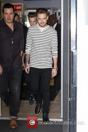 Liam Payne - Liam Payne pictured arriving at the Radio 2 studio at BBC Western House - London, United Kingdom...