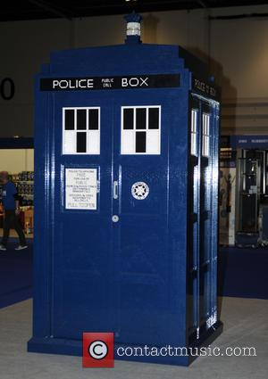 Lego  Tardis - Doctor Who Festival at Excel London - London, United Kingdom - Friday 13th November 2015