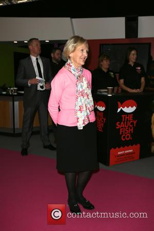 Mary Berry - Mary Berry and Pudsey opens the BBC Good Food Show London? at Olympia London - London, United...