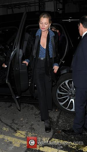 Kate Moss - Kate Moss and Count Nikolai Von Bismarck leave Sexy Fish restaurant separately after dinner together - London,...