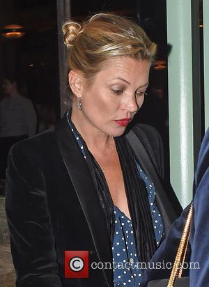 Kate Moss - Kate Moss and her rumored new boyfriend Count Nikolai Von Bismarck have dinner at Sexy Fish restaurant....