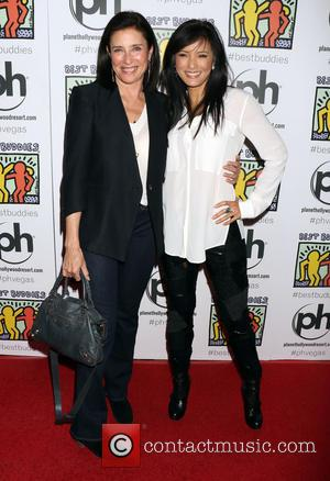Mimi Rogers and Kelly Hu