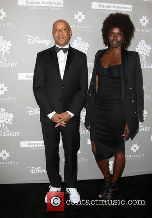Russell Simmons and Porscha Thomas