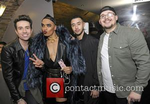 Seann Miley Moore, Mason Noise, Che Chesterman and Nick Grimshaw