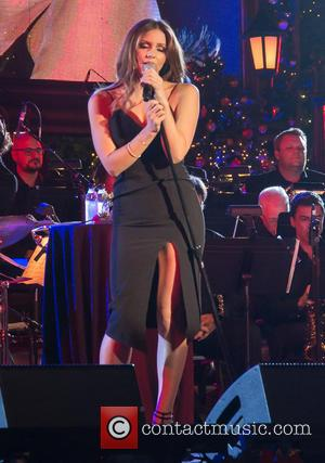 Katharine McPhee - The Grove Christmas presented by Citi at The Grove at The Grove - Los Angeles - Los...