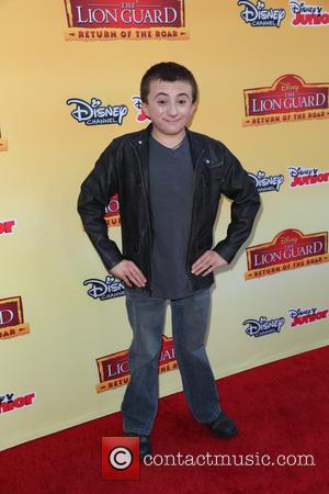 Atticus Shaffer - 'The Lion Guard: Return of the Roar' premiere at Disney Studios Burbank - Arrivals at Disney -...