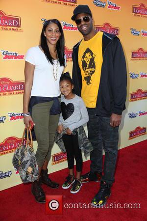 The Lion and Candace Parker