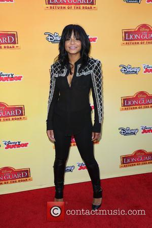 Christina Milian - 'The Lion Guard: Return of the Roar' premiere at Disney Studios Burbank - Arrivals at Disney -...