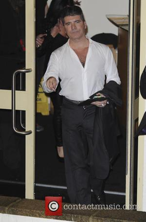 Simon Cowell - 'X Factor' studio departures after the live show at x factor - London, United Kingdom - Saturday...