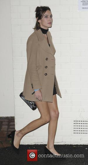 Alexa Chung - 'X Factor' studio departures after the live show at x factor - London, United Kingdom - Saturday...