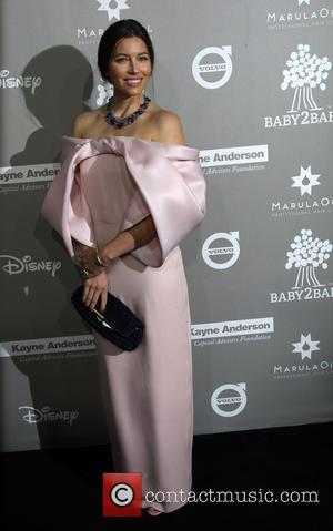 Jessica Biel - 2015 Baby2Baby Gala presented by MarulaOil & Kayne Capital Advisors Foundation honoring Kerry Washington at 3Labs at...