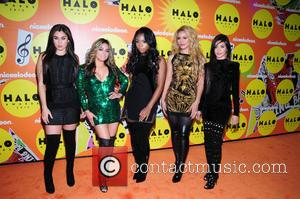 Fifth Harmony - Nickelodeon Halo Awards 2015 at Pier 36 - Arrivals - New York, United States - Saturday 14th...