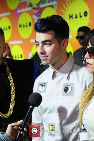 Joe Jonas - Nickelodeon Halo Awards 2015 at Pier 36 - Arrivals - New York, United States - Saturday 14th...
