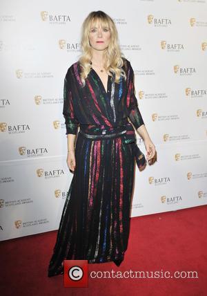 Edith Bowman - Bra-less Edith Bowman's dress became see-through in the camera flashes at Radisson Blu - Glasgow, United Kingdom...