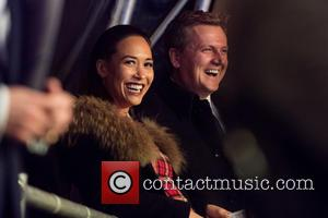Myleene Klass , Aled Jones - Regent Street Christmas Lights switch on. - London, United Kingdom - Sunday 15th November...