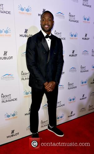 Dwyane Wade - 'A Night on the RunWade' fashion event hosted by Dwyane Wade and Gabriel Union at Ice Palace...