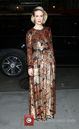 Sarah Paulson - New York premiere of 'Carol' at the Museum of Modern Art - Outside Arrivals - New York,...