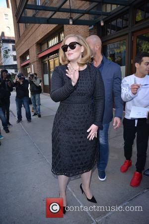 Adele Adkins - Adele leaving her hotel in New York - Manhattan, New York, United States - Monday 16th November...