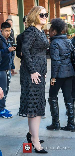 Adele Adkins - Adele out and about in New York City at Tribeca - NY, New York, United States -...