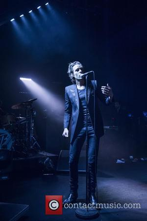 Brandon Flowers - Brandon Flowers performing live on stage at Shepherds Bush Empire at Shepherds Bush Empire - London, United...