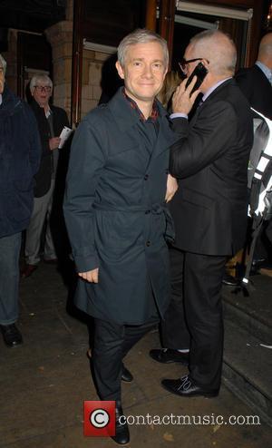 Martin Freeman - Derren Brown: Miracle Gala Night at Palace Theatre at Palace Theatre - London, United Kingdom - Monday...