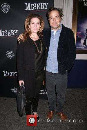 Ana Gasteyer , Charlie McKittrick - Opening night of Misery at the Broadhurst Theatre - Arrivals. at Broadhurst Theatre, -...