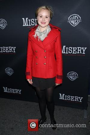 Alison Pill - Opening night of Misery at the Broadhurst Theatre - Arrivals. at Broadhurst Theatre, - New York City,...
