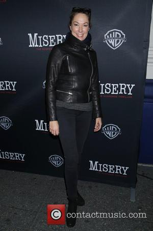 Elizabeth Marvel - Opening night of Misery at the Broadhurst Theatre - Arrivals. at Broadhurst Theatre, - New York City,...