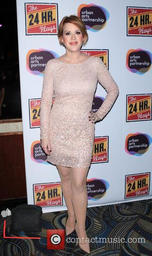 Molly Ringwald - The 24 Hour Plays on Broadway - Arrivals at BB Kings - New York, New York, United...