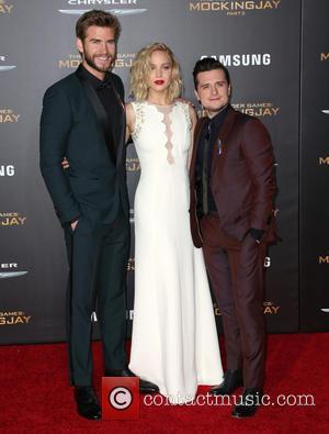 Liam Hemsworth, Jennifer Lawrence , Josh Hutcherson - Celebrities attend Premiere Of Lionsgate's