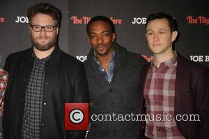 Seth Rogen, Anthony Mackie and Joseph Gordon-levitt