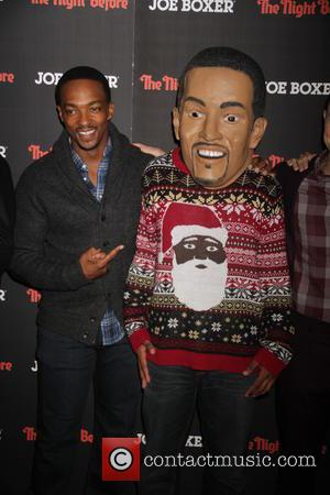 Anthony Mackie - New York premiere of 'The Night Before' at Landmark Sunshine Cinema - Arrivals at Landmark Sunshine Cinemas...