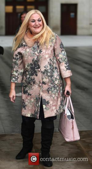 Vanessa Feltz - Celebrities at the BBC studios - London, United Kingdom - Tuesday 17th November 2015