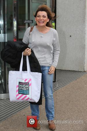Lorraine Kelly - Lorraine Kelly outside ITV Studios - London, United Kingdom - Tuesday 17th November 2015